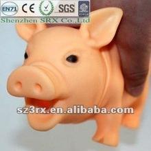 Plastic shrilling pig vent toys