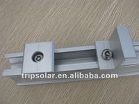 pv solar panel mounting system component inter clamps