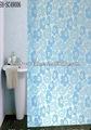 de dibujos animados hermosa cortina de ducha de alta calidad