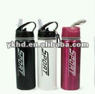stainless steel sports /water bottle ,BPA free with new PP