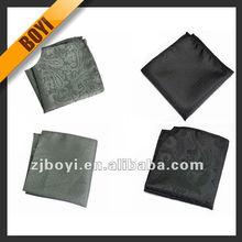 Grey And Black Handkerchief For Man