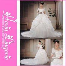 Cheap Elegant Lace Muslim Wedding Dresses 2012
