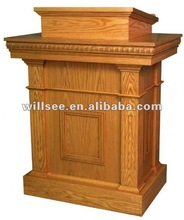 CP-001,Wooden Church Pulpit /Oak pulpit /wood pulpit