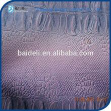 Crocodile fabric leather for sofa