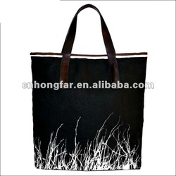cotton canvas tote bag;beach bag