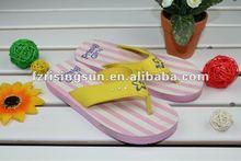 China New Style Nude Kids Flip Flops EVA Slipper