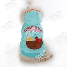 Fruits snow coat for pets/dog clothing
