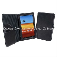 Wallet leather case for samsung galaxy tab p6200 leather case