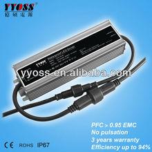 12v 24v ac dc power supply 150w 200w 240w 5 years warranty 94% efficiency