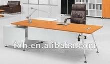 Metal Base L Shape Executive Desk Manufacturer (FOHBH28-F)