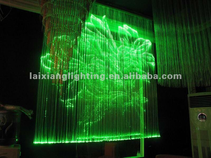 Moderne d coration de mariage en fibre optique led for Plafond en fibre optique