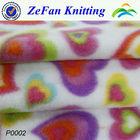 100% polyester printing micro polar fleece fabric