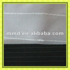 300d*300d 100% polyester stripe mini matt/ plain woven fabric for suit/ uniform