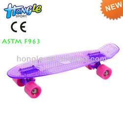 4 wheels plastic penny skate board,wholesale penny skateboards