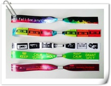 2014 festival woven wristband for Christmas party