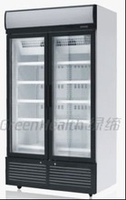 Low temp display freezer with glass door OEM factory