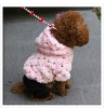 Bling bling pet suits, soft dog clothes, pet clothing