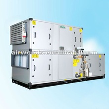Air handling unit direct driven or belt driven air conditioner fresh air