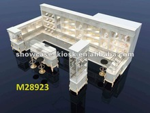 arylic jewelry kiosk showcases display case display cabinet