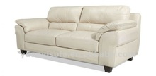 Modern living room furniture sofa , leather couch, 3 seater couch YYL2021