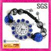 2013 Wholesale Charms Blue Accessories Women Bracelet Shamballa Watches