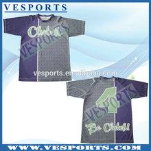 Full Dye Sublimation Sports T Shirts Softball Jerseys
