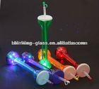 LED Flashing yard glass