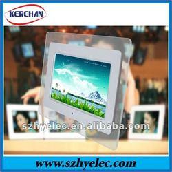 7 inch acrylic Chinese best digital photo frame 2012