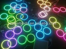 40mm-200mm 5050 smd RGB 12V car led angel eyes halo rings light