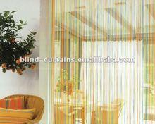 2015 Beautiful rainbow string curtain