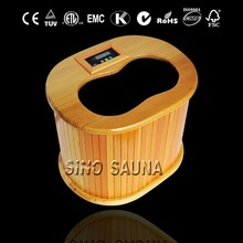 2012 New Design of wooden Infrared Foot and leg Sauna