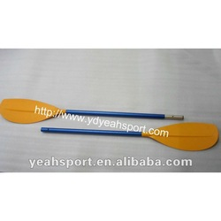 PP blade and aluminum shaft kayak paddle