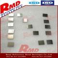 99.5% de metal escovado níquel placas e lençóis