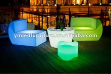 commercial bar sofa/led sofa/modern led sofa YM-LS719671