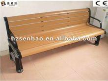 indoor wood plastic composite floor chair
