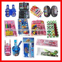promotional stationery set( pencil,eraser,notebook)