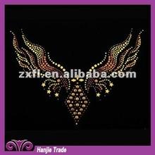 Wholesale Sweater Collar Wigs Design Hot Fix Crystal Motif