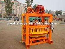 Price for QTJ4-40 small concrete block forming machine construction equipment
