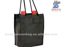durable non-woven shopping 6 tote wine bottle bag(HL-6030)