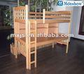Cama de beliche de madeira com / crianças mobiliário escolar