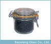 Glass kilner jar with clip