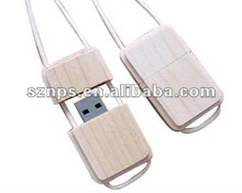 Wooden and Bamboo USB Flash Memory