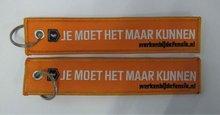 Kundenspezifische Stickerei keychains