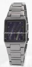 designer nickle free tungsten steel watch with quartz movement