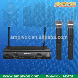 Very Popluar VHF Wireless Microphone AE-200