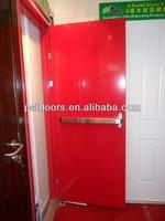 2hrs steel fire exit door,bs certificate fire resistance door,fire proof steel door