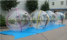 Large Colourful Striped PVC Floating Zorb Ball Water