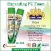 eliminating air filtration PU spray sealant manufacturer/factory 500ml/750ml (ROHS certificate)