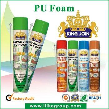 Vapour Barrier PU spray sealant manufacturer/factory 500ml/750ml (ROHS certificate)