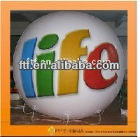 2013 hot sale advertising/toy 2.5m Dia PVC inflatable Beach ball